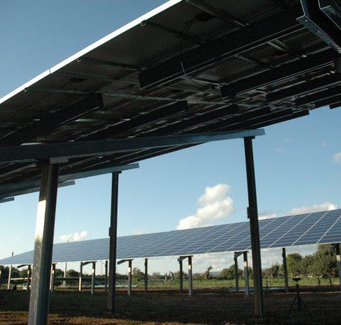 Tettoie per fotovoltaico